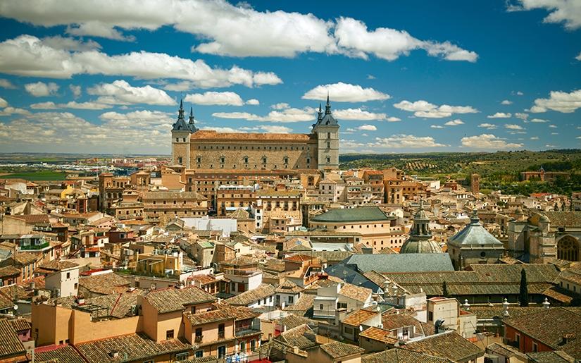 העיר העתיקה והמרשימה טולדו בספרד