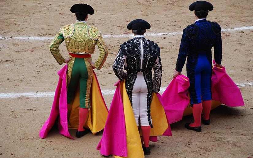 מופע של לוחמים ספרדים אמיצים